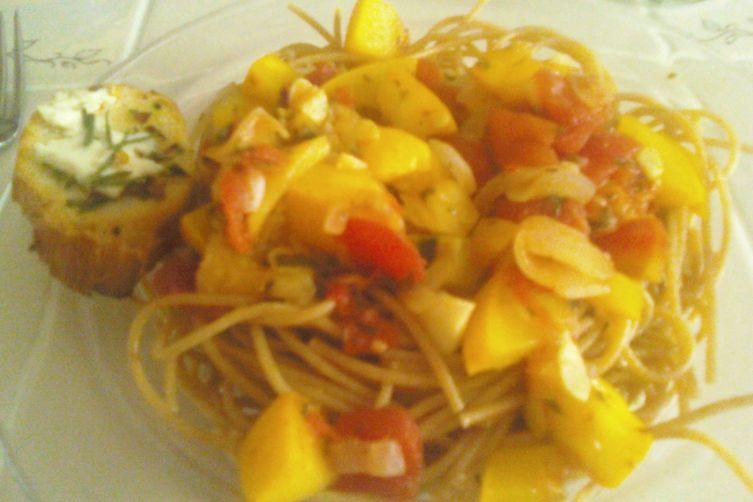 Summer Squash Pomodoro