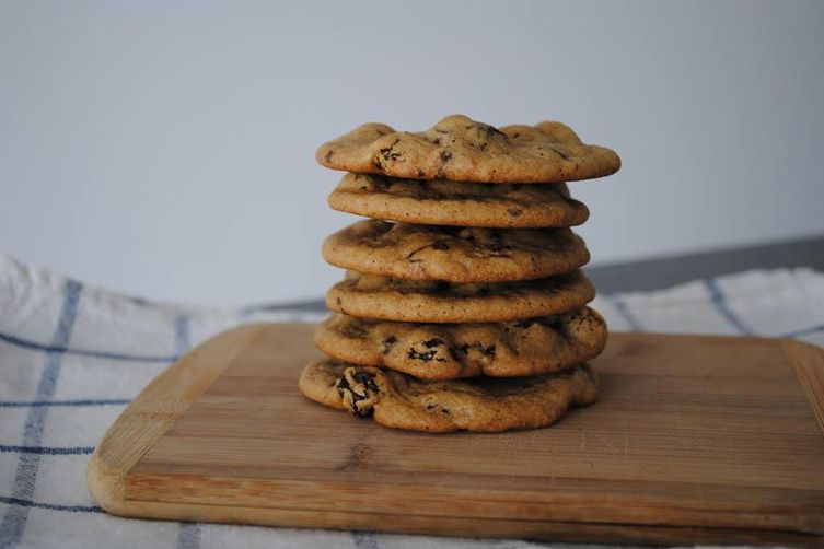 Raisin, Apricot & Chocolate Covered Blueberries Cookies