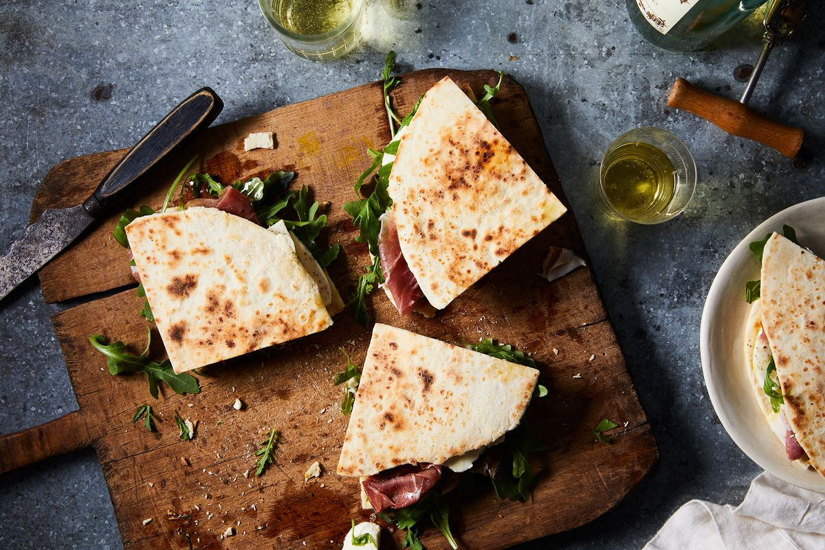 An Easy Rustic Flatbread You Can Serve At Every Family