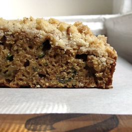 Streusel Topped Zucchini Coffee Cake