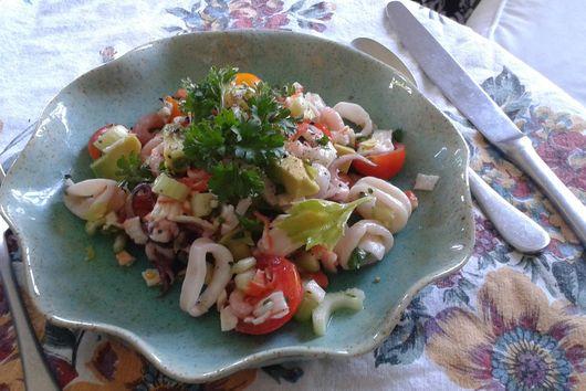 Insalata di Mare (Mediterranean Seafood Salad)