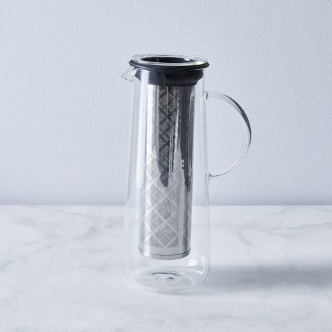 Hot & Cold Brew Glass Infuser
