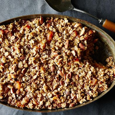 f3f5e8a4 cfef 4dae 81a4 e5a6f444c8be  2014 1028 apricot almond baked oatmeal 008 What to Cook in Our Itty, Bitty, Pretty Staub Stovetop Rice Cooker