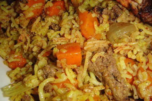 Iraqi Carrot Rice