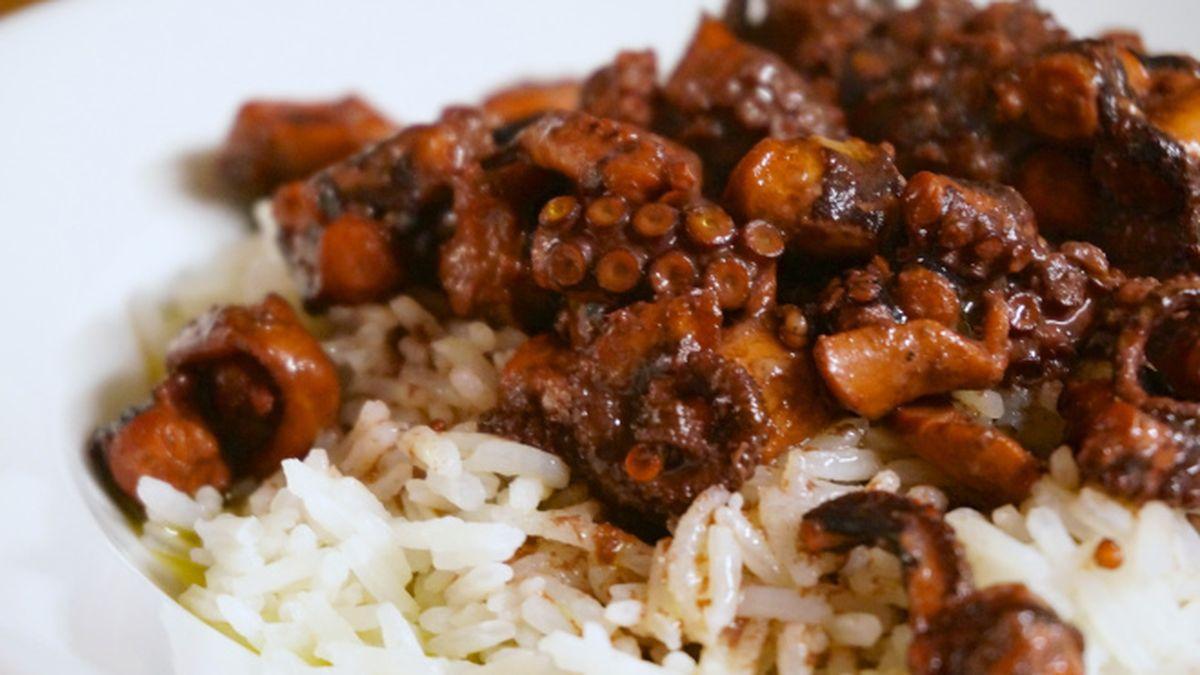 Red Wine Braised Octopus Recipe on Food52