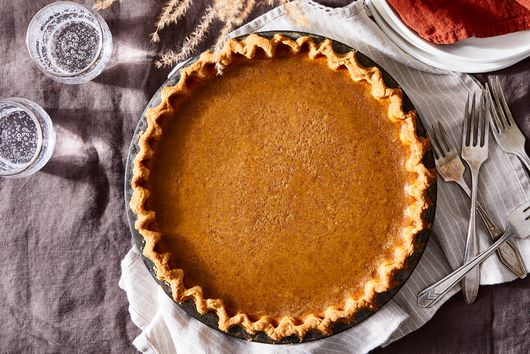 Pumpkin Sugar Pie With Cookie Crust from Erin Jeanne McDowell