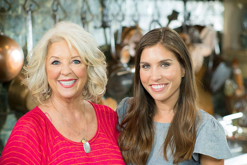 Paula Deen with her daughter-in-law, Claudia.