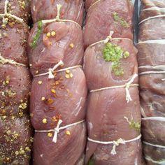 Pork tenderloin 4 ways