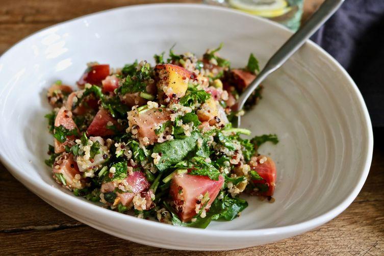 Nectarine Quinoa Salad