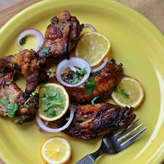 Honey and Meyer Lemon Chicken Wings