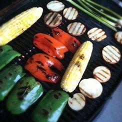 Grilled Balsamic Vegetable Salad