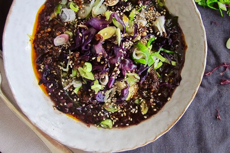 Black Rice Congee