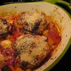 Tomato Citrus Chicken Thighs