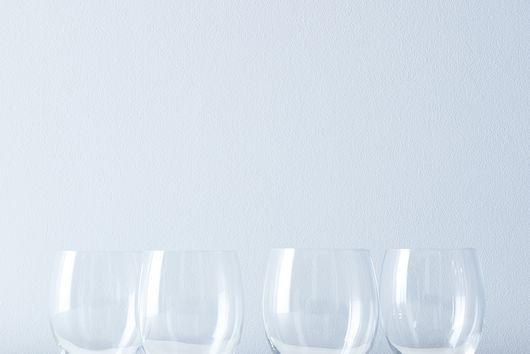 Italian Stemless Wine Glasses (Set of 4)