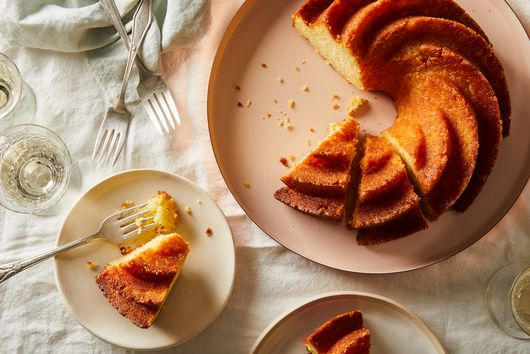 Maida Heatter's Lemon Buttermilk Cake