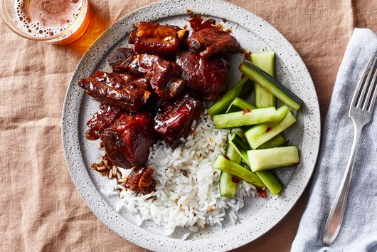These Sweet & Sticky Chinese Ribs Are Certified Genius