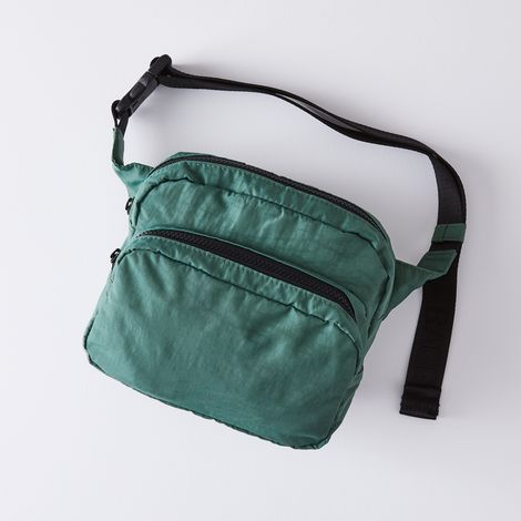 Multi-Pocket Nylon Fanny Pack