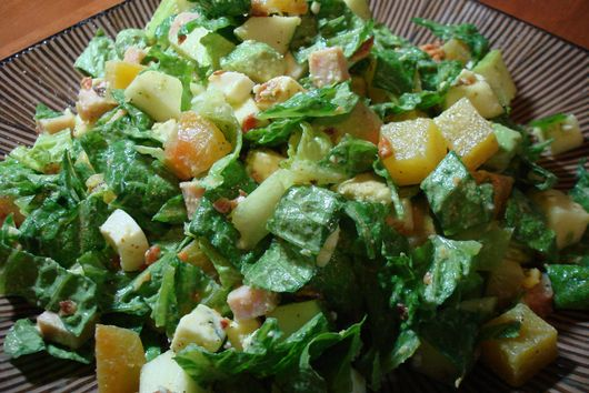 Winter Cobb Chopped Salad