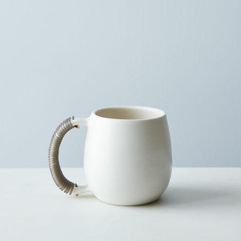 Woven Handle Mug