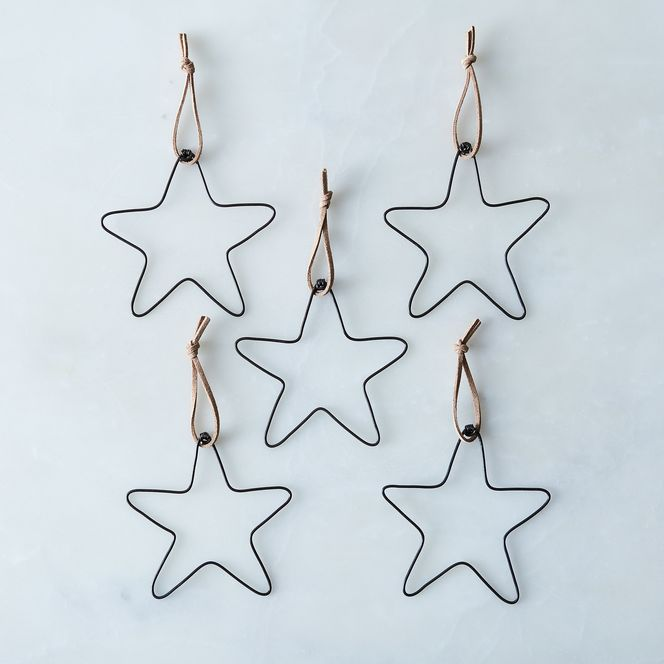 Wire Star Ornaments (Set of 5) on Food52