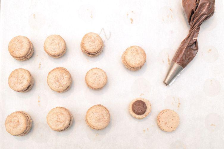 Pecan Macarons