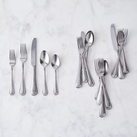 Lenox Brushed Stainless Steel Flatware (20-Piece Set)