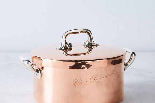 Vintage Copper French Chef Poccardi, Early 20th Century