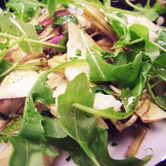 Artichoke Salad with Walnut Dressing