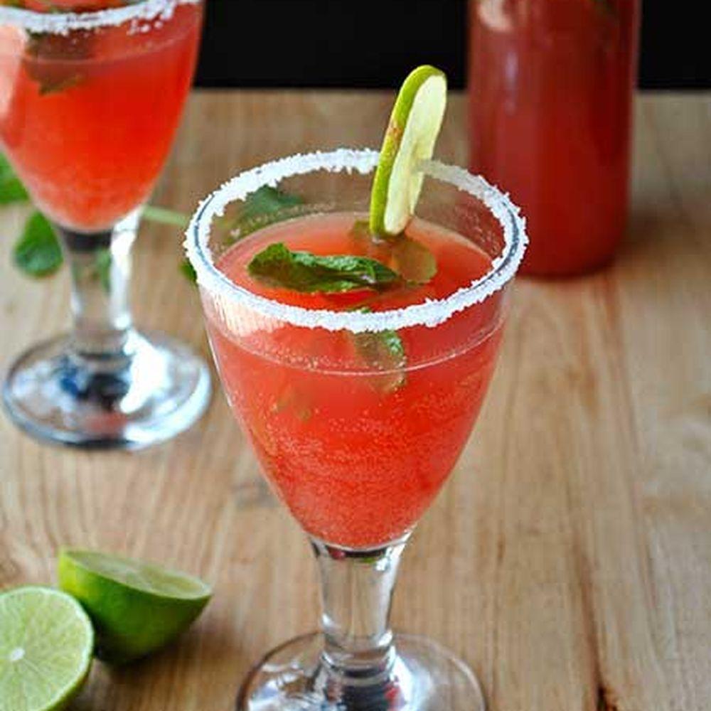 Watermelon & Vodka Cocktail Mix Recipe On Food52