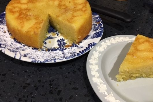 Variation on Maialino's Olive Oil Cake
