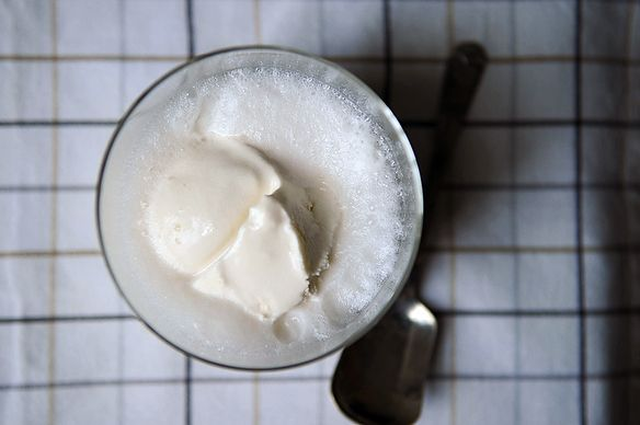 Ice cream float from Food52