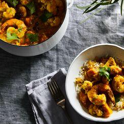 A Speedy, Simple Shrimp (Or Any Shellfish) Curry