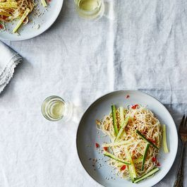 The Argument for Drinking Champagne with Takeout