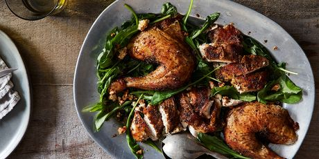 Mouth-watering recipes for duck, chicken, turkey, and goose.