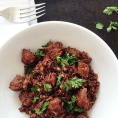 Red Rice Pilaw with Salsiccia Sausage