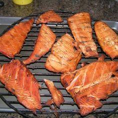 Pineapple Honey-Glazed Smoked Salmon