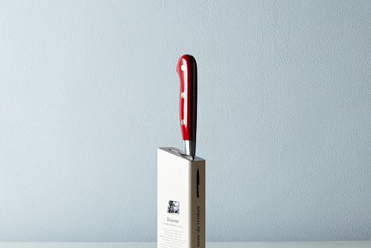 Berti Red-Handled Italian Kitchen Knives