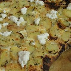 White Potato Pizza