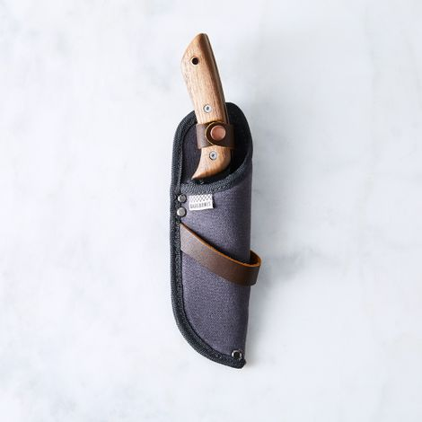 Walnut Garden No.6 Field Knife & Sheath