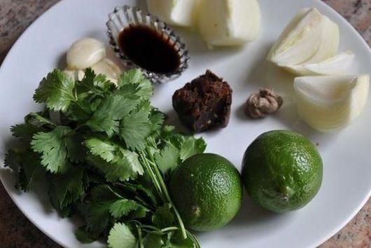 Tamarind, Lime and Cilantro Sauce