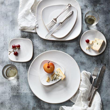 Handmade Shapes Plates