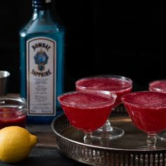 Blackberry French 75s