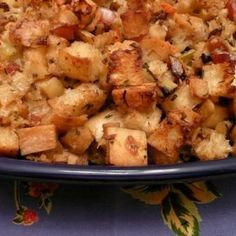 Stuffing with Ciabatta, Pancetta and Apples