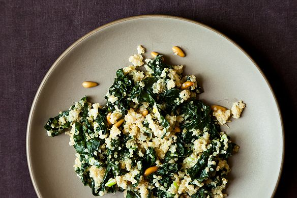 One Pot Kale and Quinoa Pilaf by deensiebat