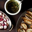 Fancy rustic appetizers