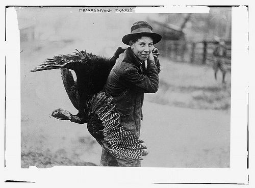 Thanksgiving Turkey, 1910