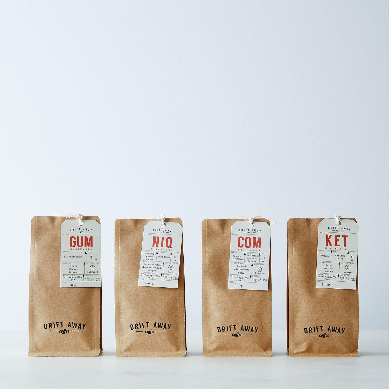 Driftaway Single Origin Coffee Sampler Set Of 4 Coffee