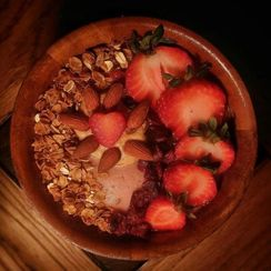 Strawberry & PB Nice Cream