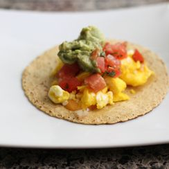 Six Minute Breakfast Taco