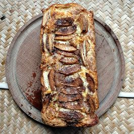 Apple Cinnamon Cream Loaf